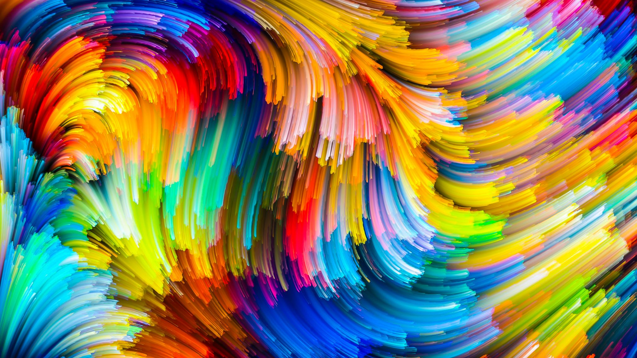 Abstract Pattern Colorful 4K Wallpaper - Best Wallpapers