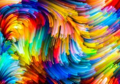 Abstract Pattern Colorful 4K Wallpaper