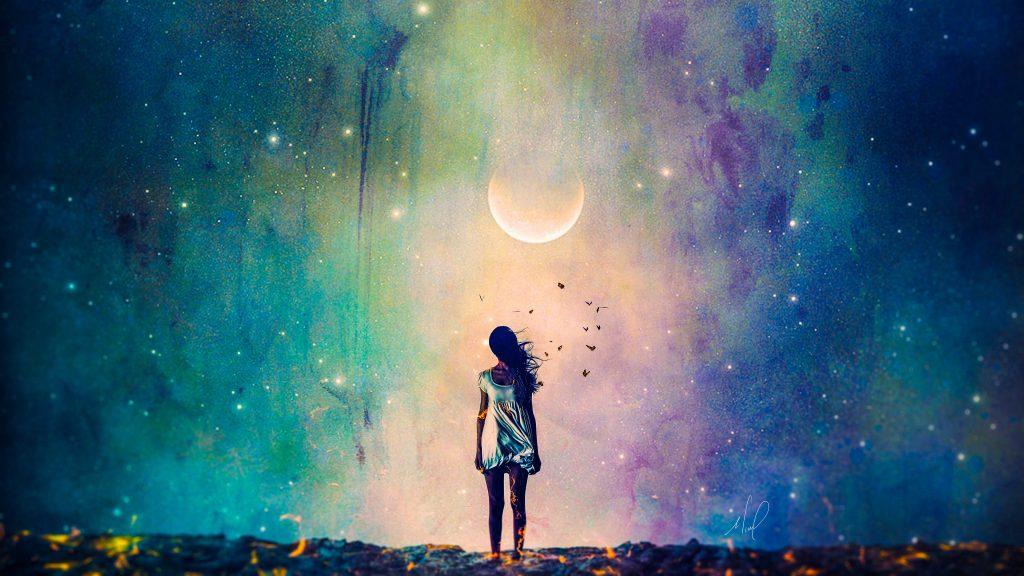 Alone Girl Lonely Sadness Sad 4K Wallpaper