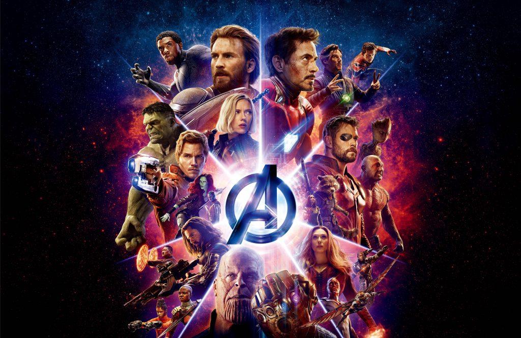Avengers Infinity War Poster 8K Wallpaper