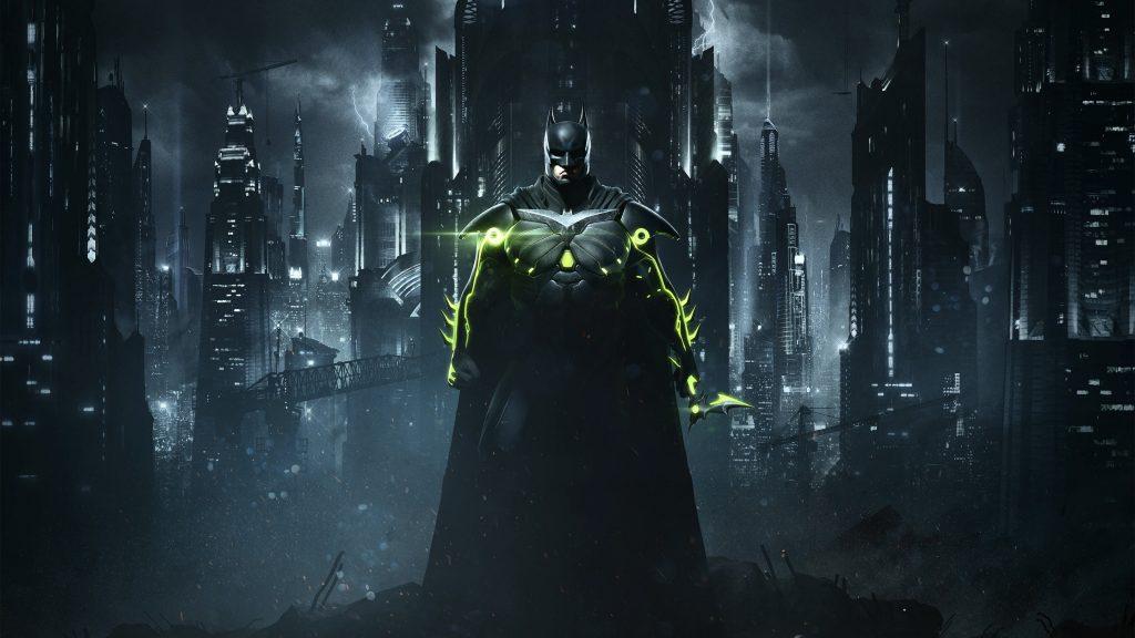 Batman Injustice Game 4K Wallpaper