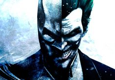 Batman Joker Face 4K Wallpaper