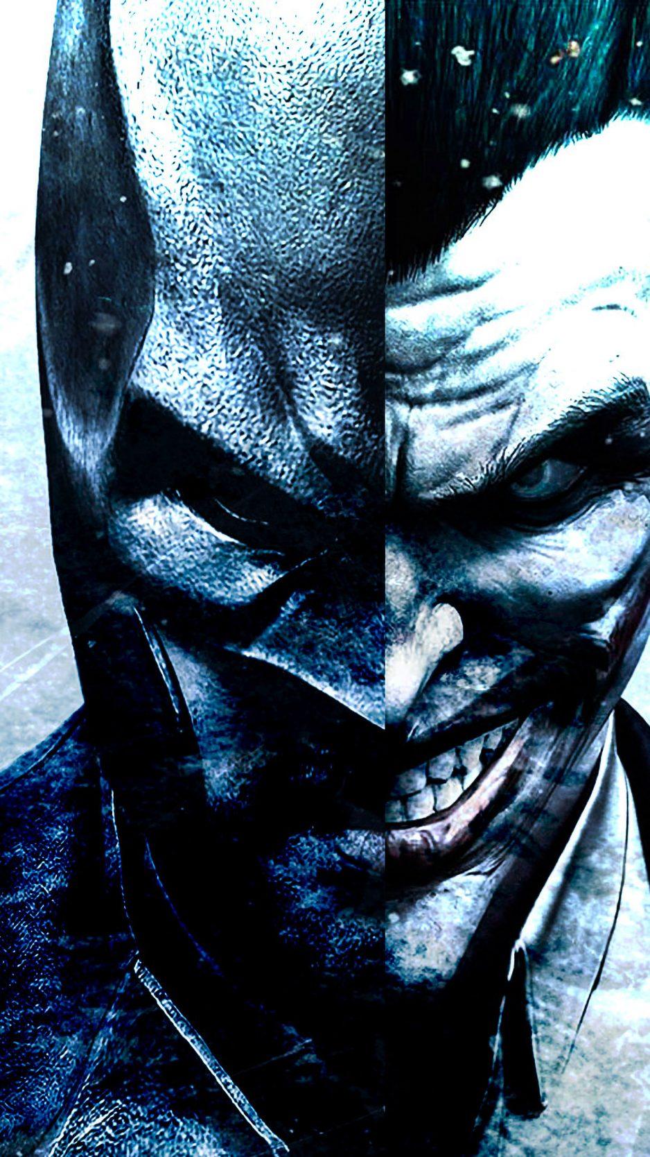 Batman Joker Face 4K Wallpaper  Best Wallpapers