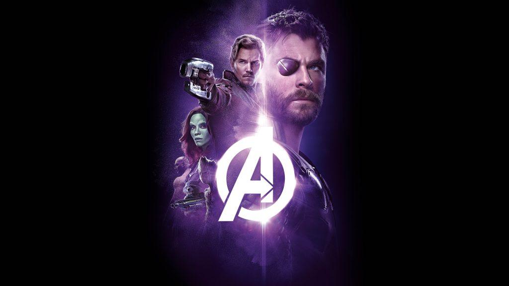 Thor Avengers Infinity War Poster 8K Wallpaper