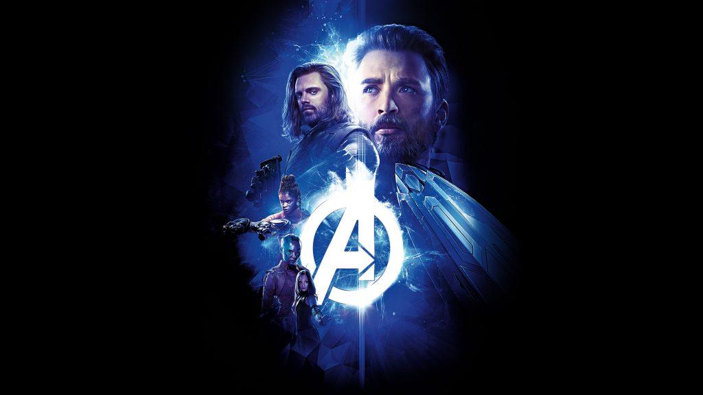 Captain America Avengers Infinity War 8K Wallpaper
