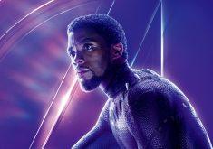 Black Panther Avengers Infinity War Poster 8K Wallpaper