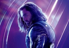 Bucky Barnes Avengers Infinity War Poster 8K Wallpaper