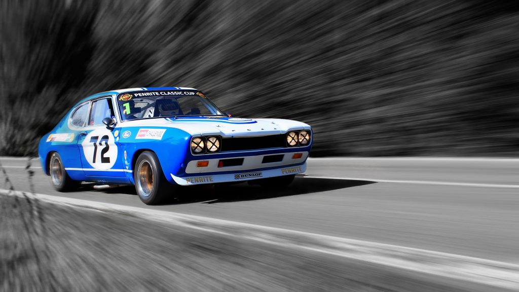 Car Blue Race Speed Sport Car 4K Wallpaper