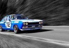 Car Blue Race Speed Sport Car 4K Wallpaper