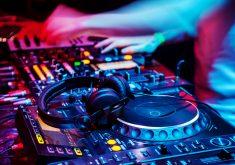 DJ Music Colorful Blue Purple Red 4K Wallpaper