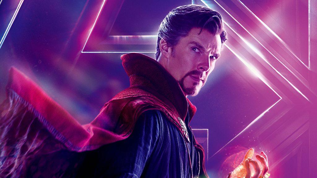 Doctor Strange Avengers Infinity War Poster 8K Wallpaper