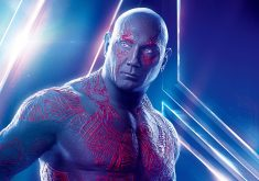 Drax the Destroyer Avengers Infinity War Poster 8K Wallpaper