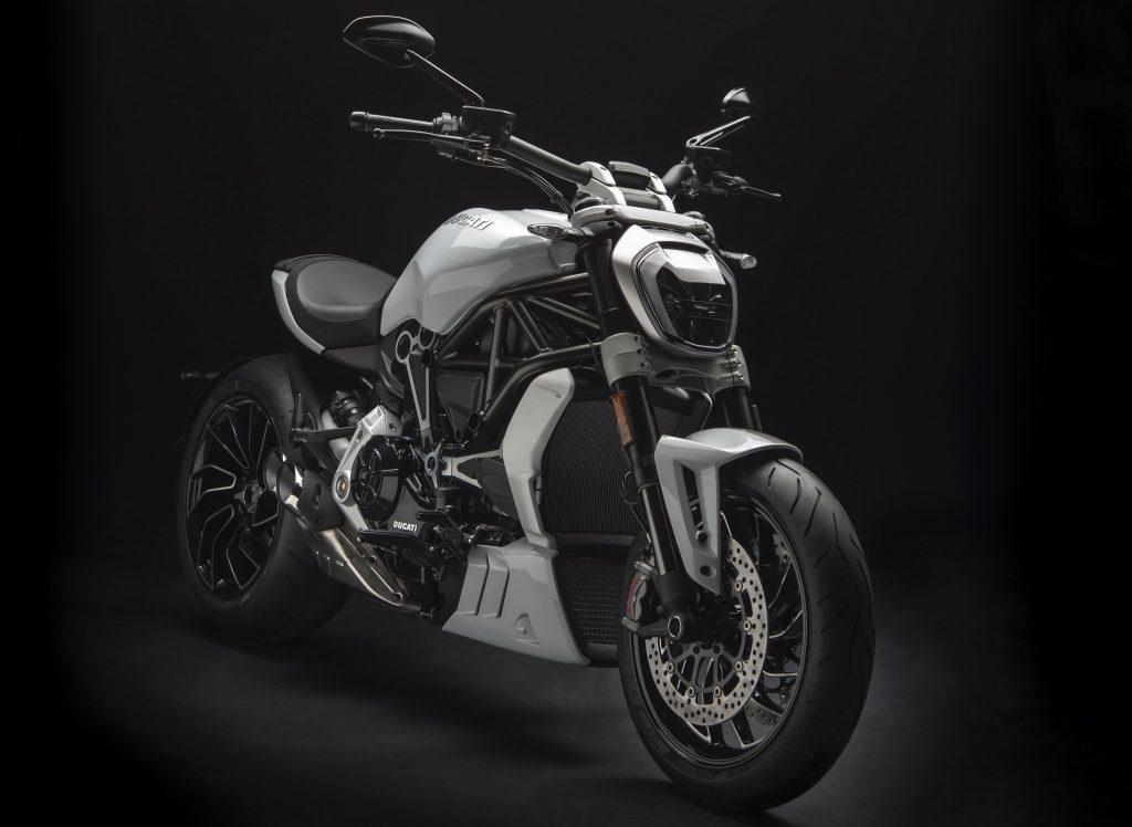 Ducati XDiavel Monochrome 4K Wallpaper