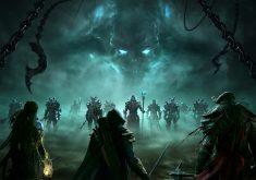 Game Fight Blue Monster Chain 4K Wallpaper