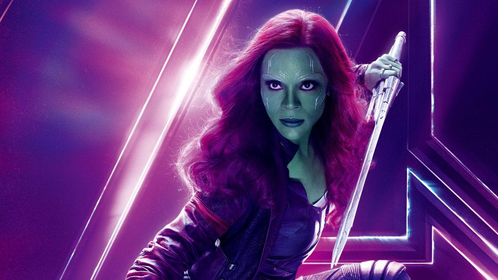 Gamora Avengers Infinity War Poster 8K Wallpaper