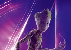 Groot Avengers Infinity War Poster 8K Wallpaper