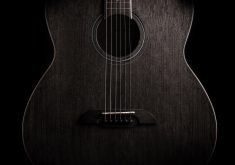 Guitar Dark Music Instrument 4K Wallpaper