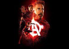Ironman Avengers Infinity War Poster 4K Wallpaper