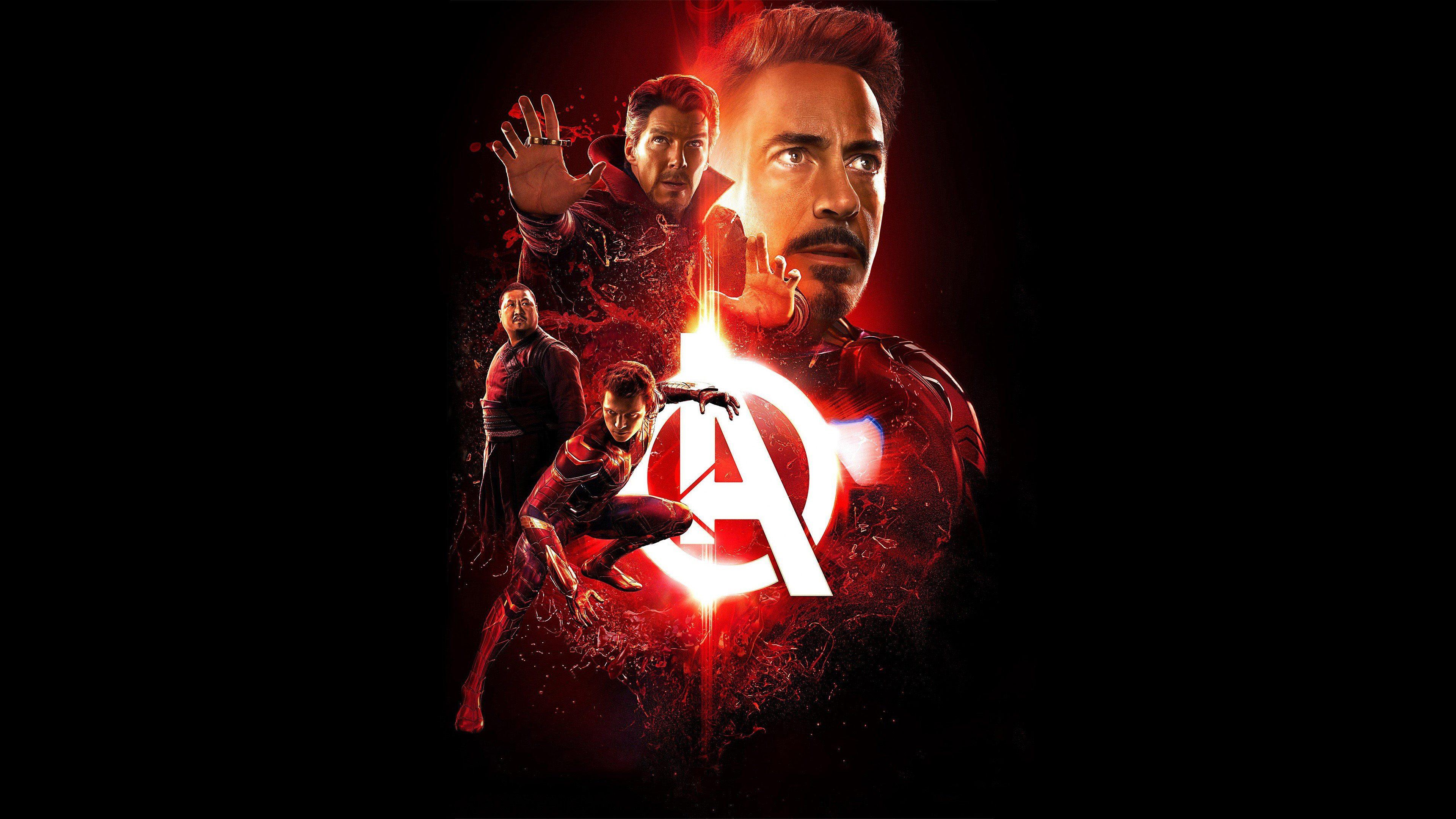 Ironman Avengers Infinity War Poster 4k Wallpaper Best