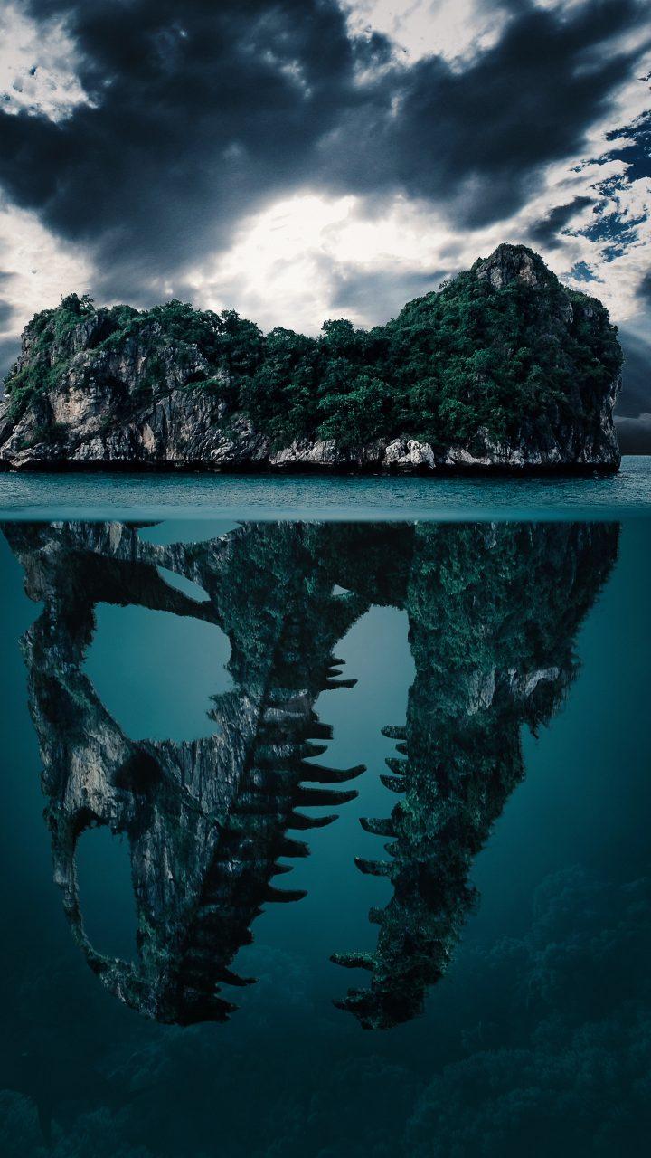Island Fantasy Water Green 4k Wallpaper Best Wallpapers