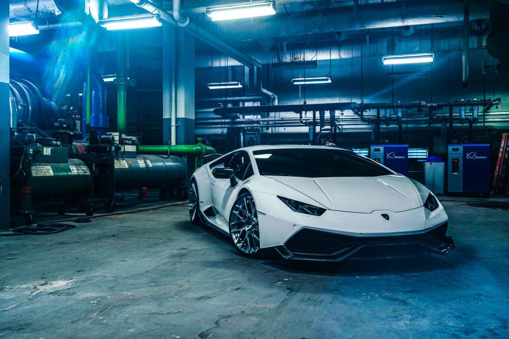 Lamborghini Huracan Car Sport Car Luxury Car 8K Wallpaper