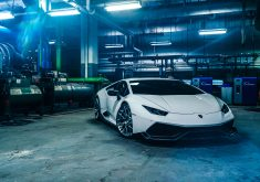 Lamborghini Huracan Car Sport Car Luxury Car 8K Wallpaper