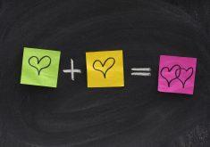 Love Plus Love Equal Double Love 4K Wallpaper