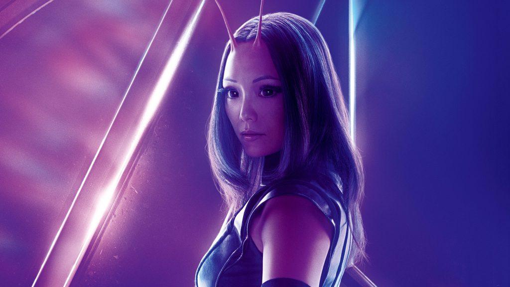 Mantis Avengers Infinity War Poster 8K Wallpaper