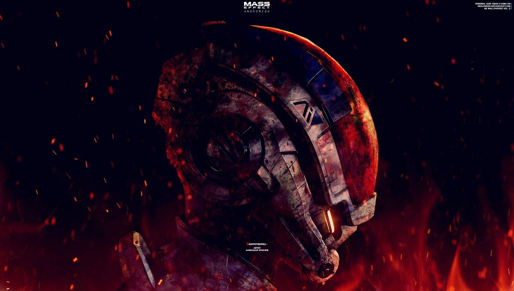 Mass Effect Andromeda Game 4K Wallpaper