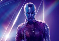 Nebula Avengers Infinity War Poster 8K Wallpaper