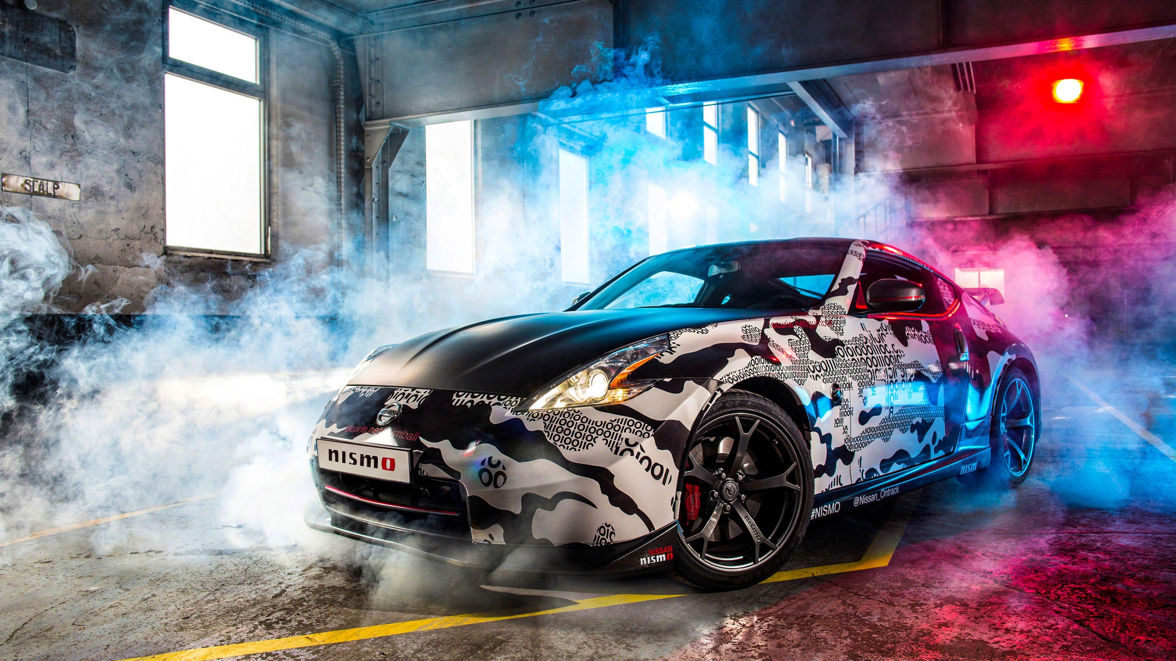 Nissan 370z Nismo Gumball Sport Car 4k Wallpaper Best Wallpapers