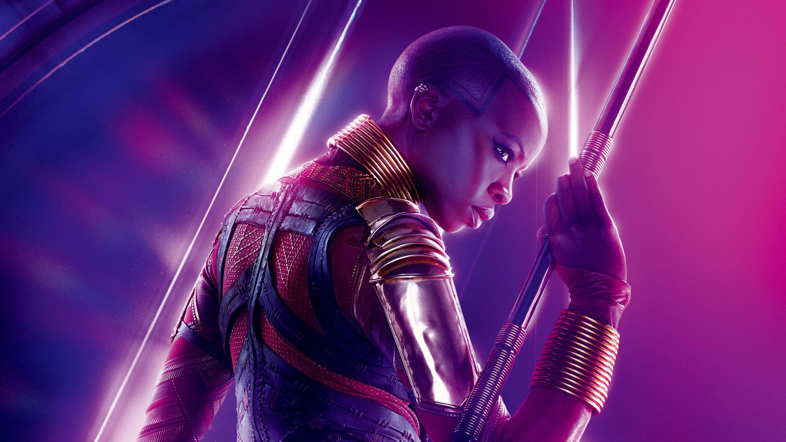 Okoye Avengers Infinity War Poster 8k Wallpaper Best Wallpapers