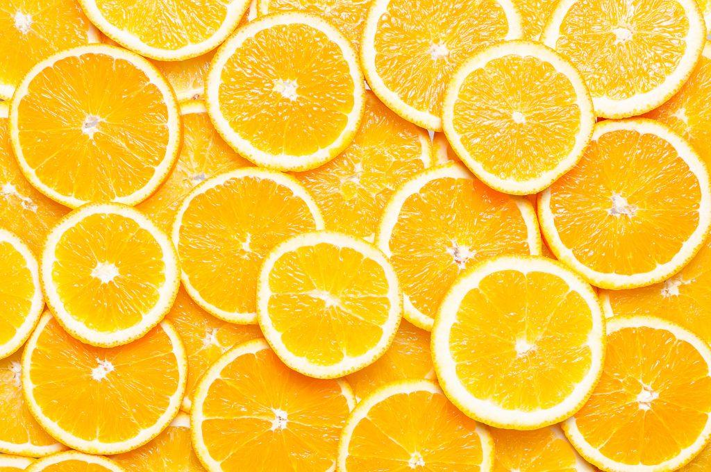 Orange Fruits Slices 4K Wallpaper