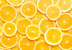 Orange Fruits Slices 4K Wallpaper