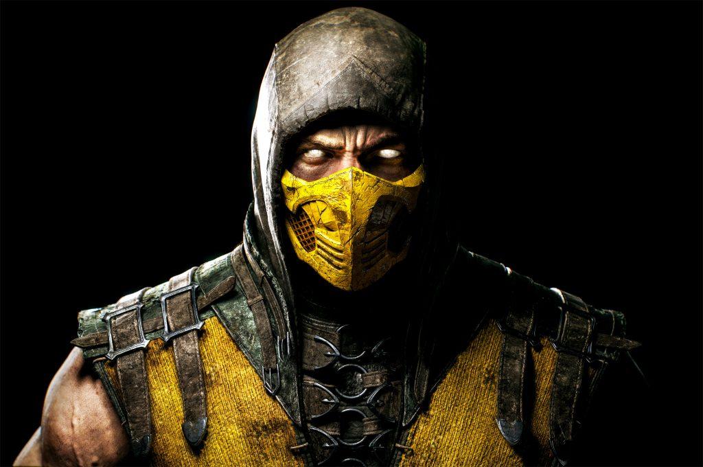 Scorpion Mortal Kombat X Game PC 5K Wallpaper