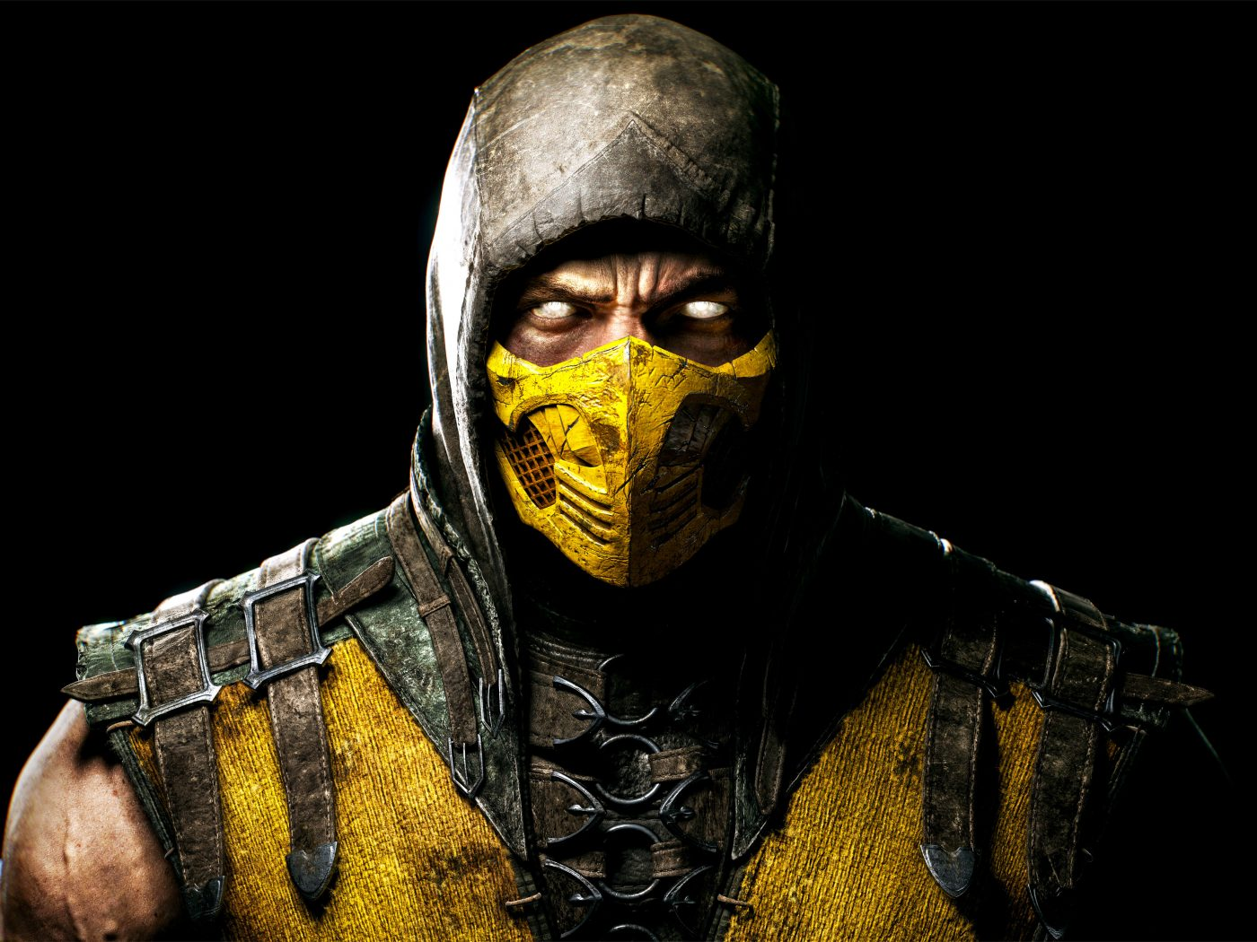 Mortal Kombat X Scorpio 3d Cool Video Games Wallpapers: Scorpion Mortal Kombat X Game PC 5K Wallpaper