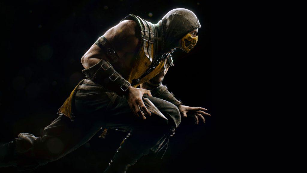 Scorpion Mortal Kombat X Game PS4 PC 8K Wallpaper