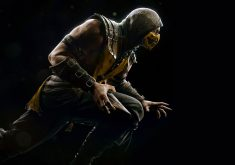 Scorpion Mortal Kombat X Game PS4 PC 8K Wallpaper