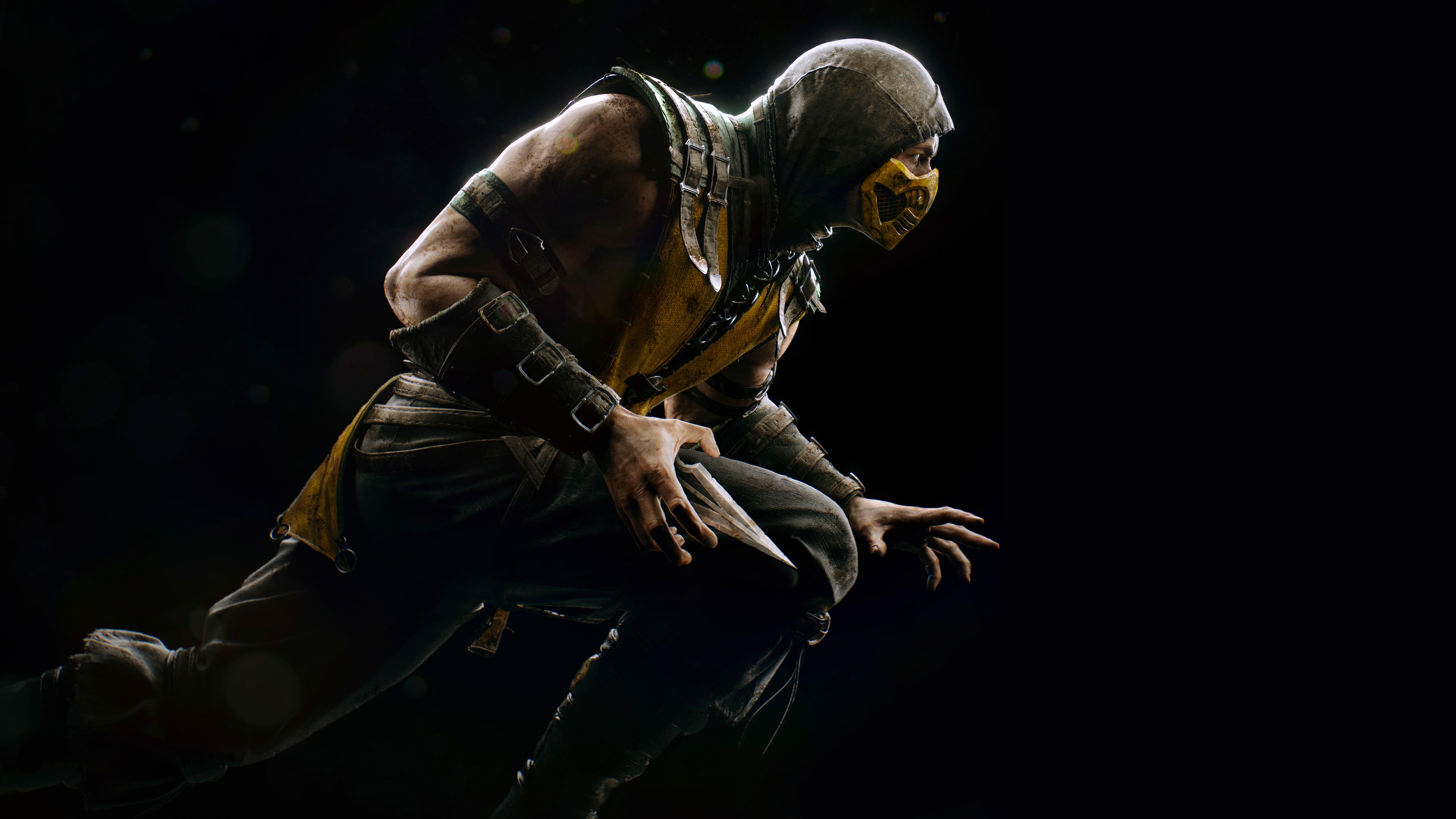 Scorpion Mortal Kombat X Game PS4 PC 8K Wallpaper - Best ...