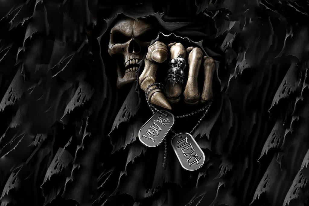 Skull Locket Game Fear 4K Wallpaper