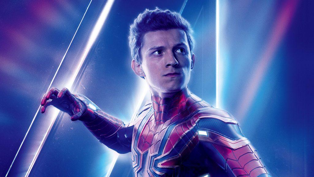 Spiderman Avengers Infinity War Poster 8K Wallpaper