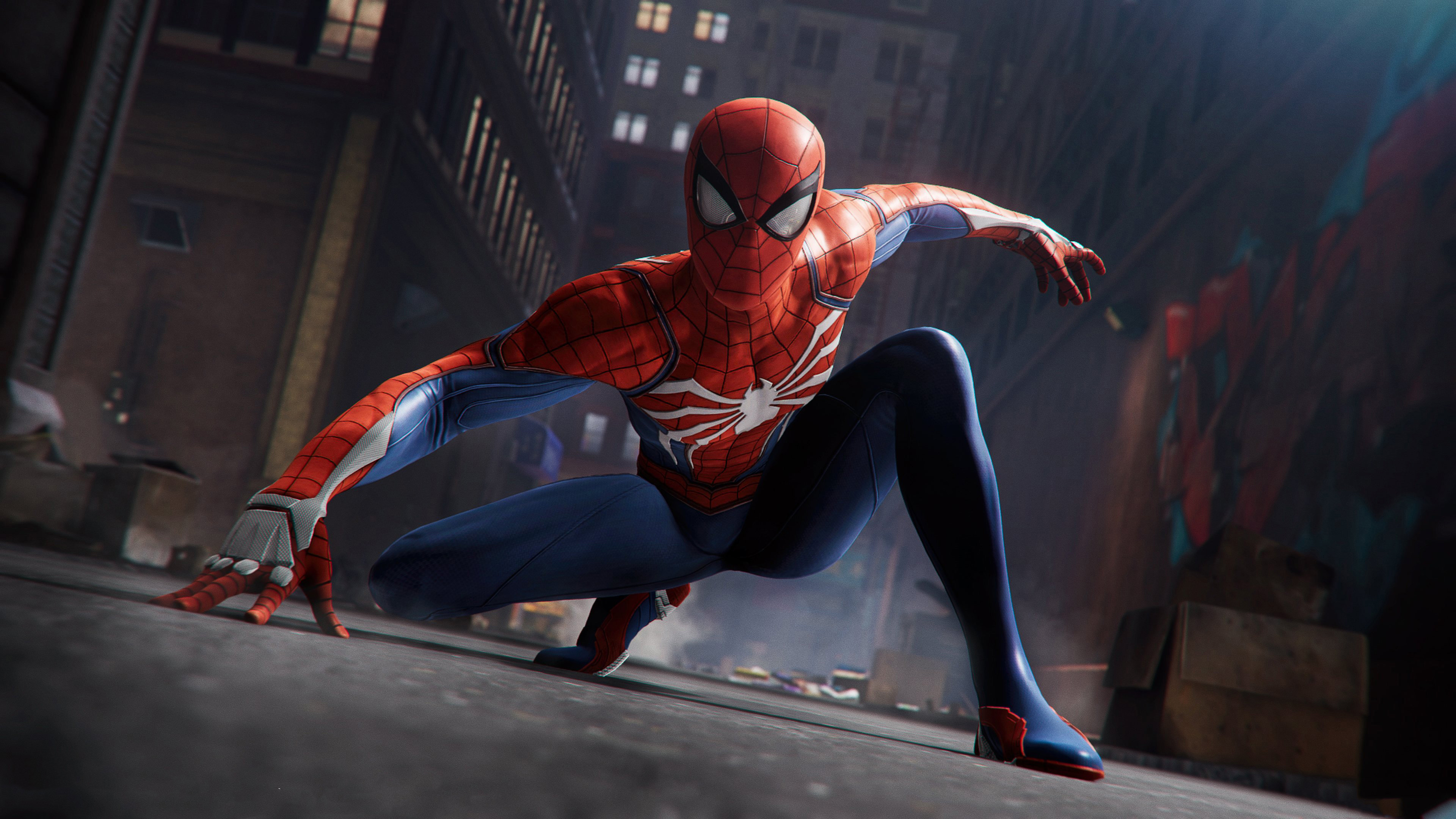 Spiderman Game Ps4 Xbox One 4k Wallpaper Best Wallpapers