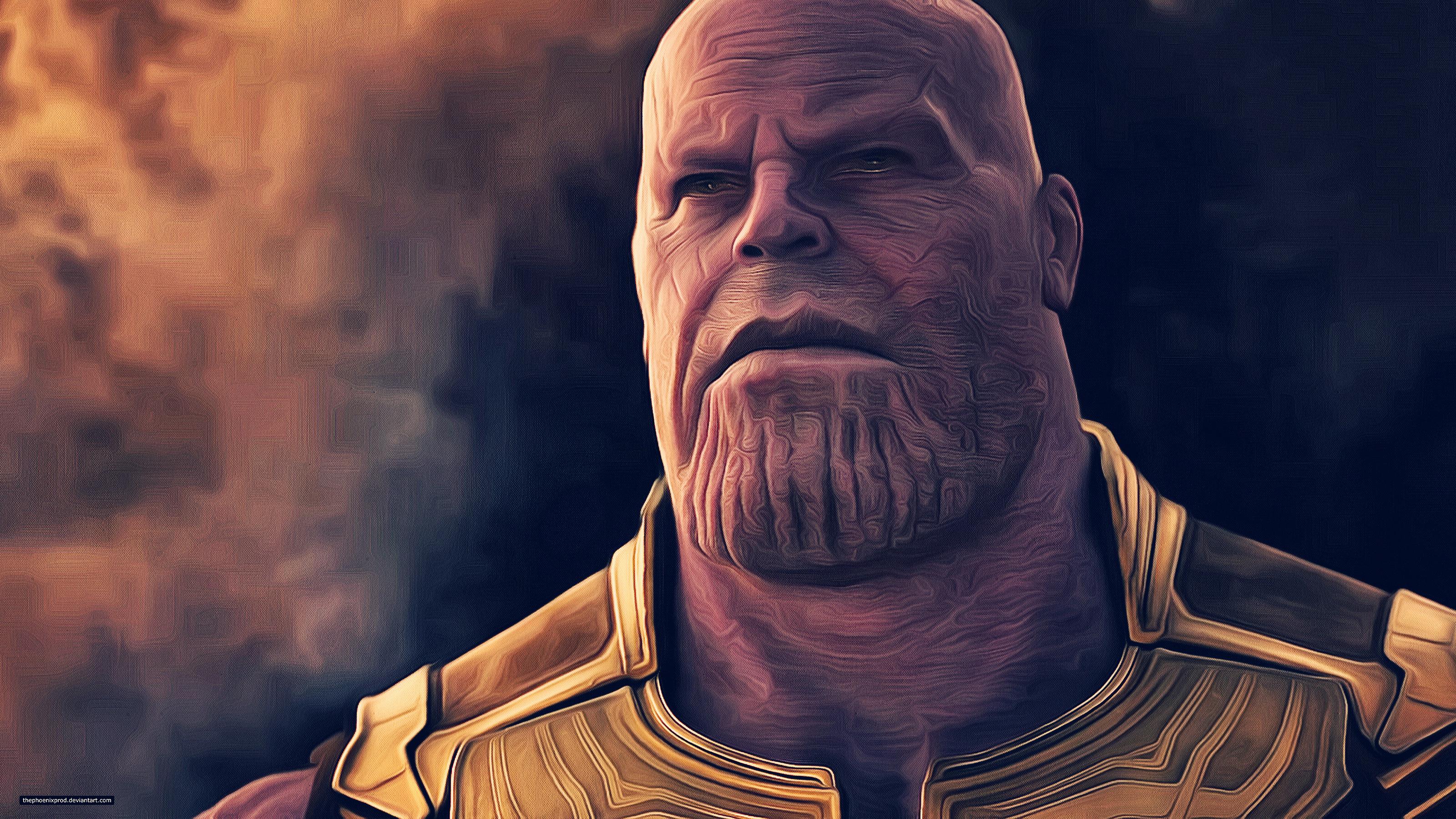 Thanos Avengers Infinity War Artwork 4k Wallpaper Best Wallpapers