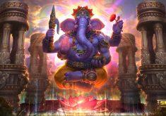 Vinayaka Ganapati Lord Ganesha 4K Wallpaper