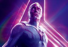 Vision Avengers Infinity War Poster 8K Wallpaper