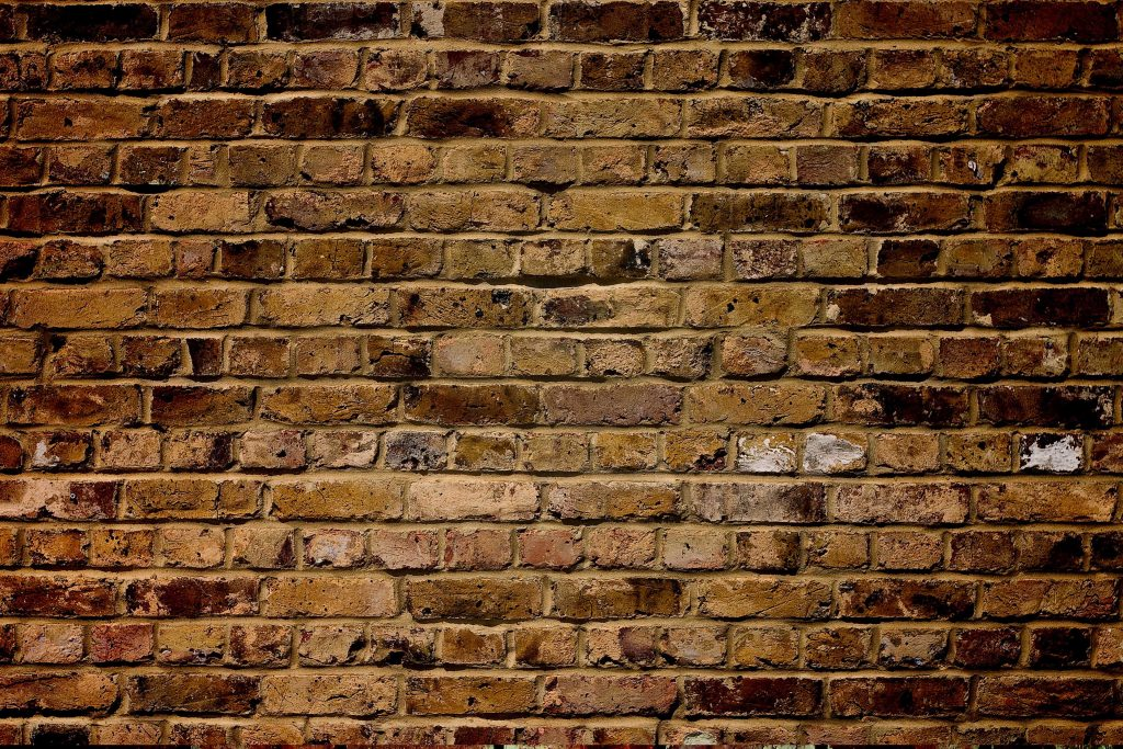 Wall Bricks Pattern Red 4K Wallpaper