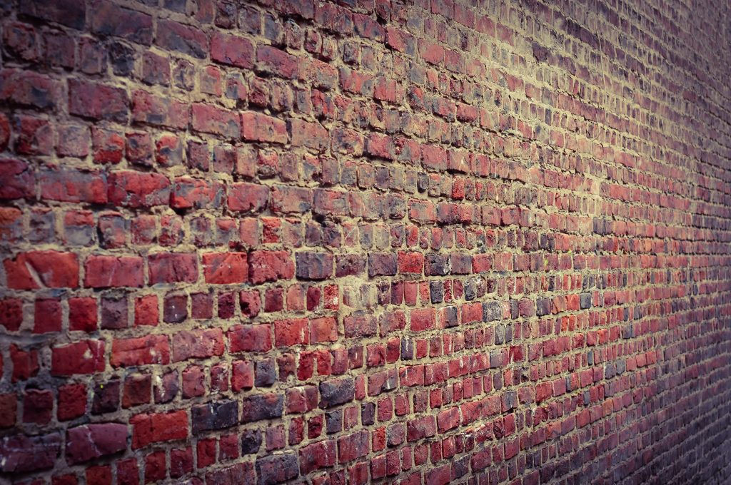 Wall Red Bricks Pattern 4K Wallpaper