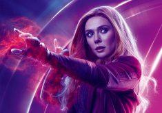 Wanda Maximoff Avengers Infinity War Poster 8K Wallpaper