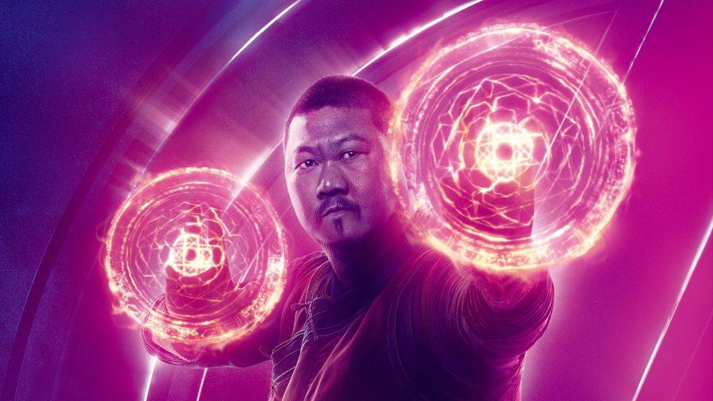 Wong Avengers Infinity War Poster 8K Wallpaper