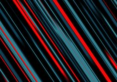 Abstract Material Style Lines Blue Red 4K Wallpaper